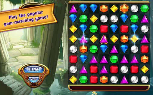 Arcade-Spiele Bejeweled für das Smartphone