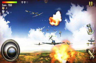Captura de pantalla Luchas en el aire 1942 en iPhone