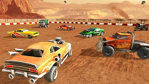 Rennspiele Derby simulator für das Smartphone