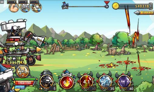 Action Cartoon defense 4 für das Smartphone
