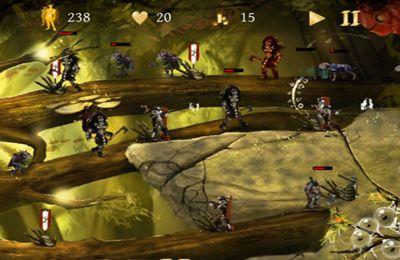 Captura de tela Batalhas de Cavaleiros no iPhone