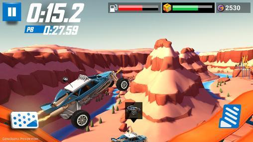 Arcade-Spiele: Lade Hot Wheels: Race Off auf dein Handy herunter