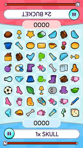 Arcade-Spiele Find stuff: Doodle match game für das Smartphone