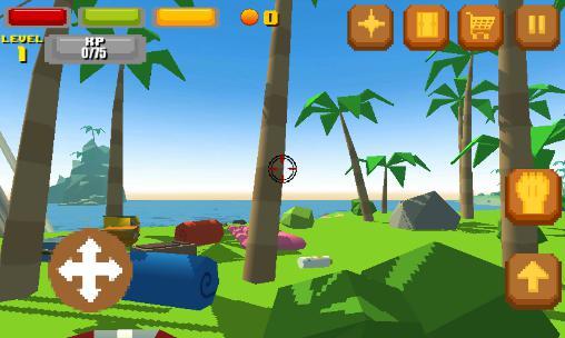 Pixel island survival 3D für Android