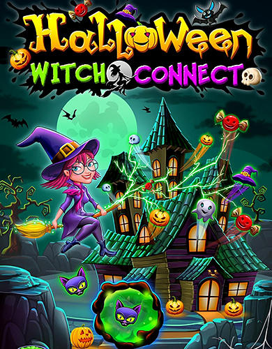 Halloween witch connect Screenshot