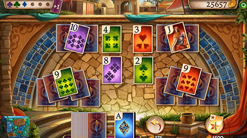 Tri peaks solitaire: Cards queen for Android