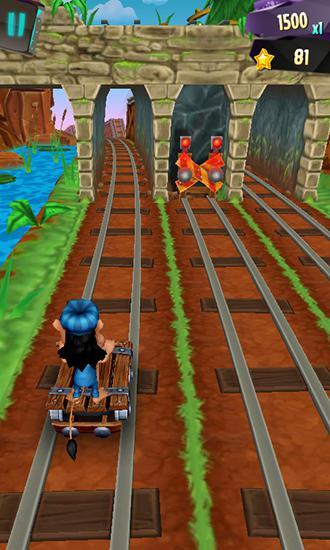 Hugo troll race 2 für Android