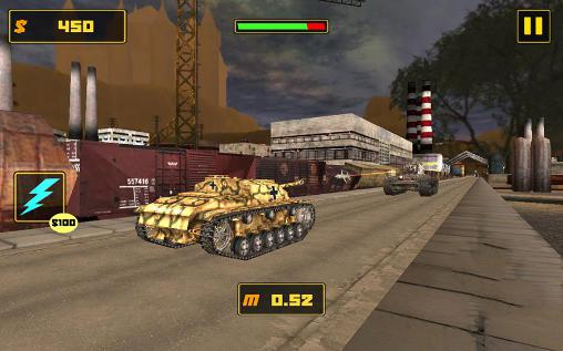 Tank fighter league 3D für Android