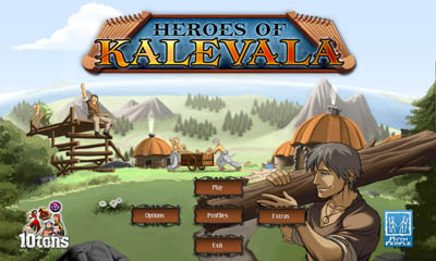 Juegos de lógica Heroes of Kalevala para teléfono inteligente