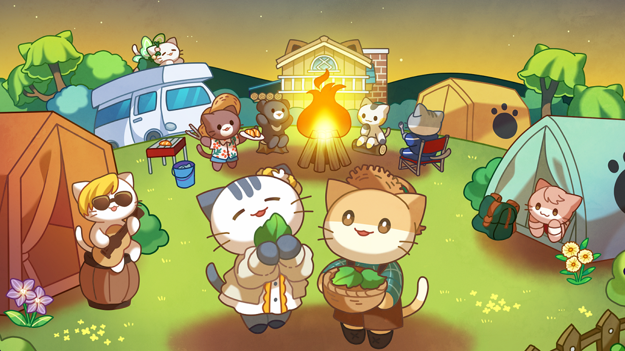 Cat Forest - Healing Camp スクリーンショット1