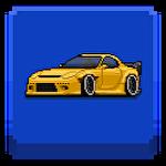 Pixel car racerіконка