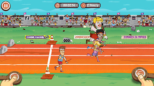 Zombies Olympics games: Rio 2016 screenshot 4
