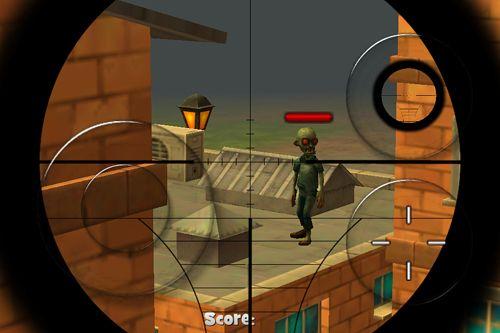 Juegos de arcade: descarga Ciudad de zombis: Tiro de francotirador a tu teléfono