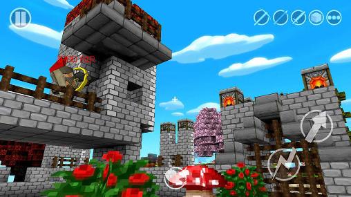 Castle craftercapturas de pantalla
