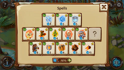 RPG-Spiele Braveland heroes für das Smartphone