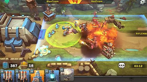 Online Strategiespiele Battle boom auf Deutsch