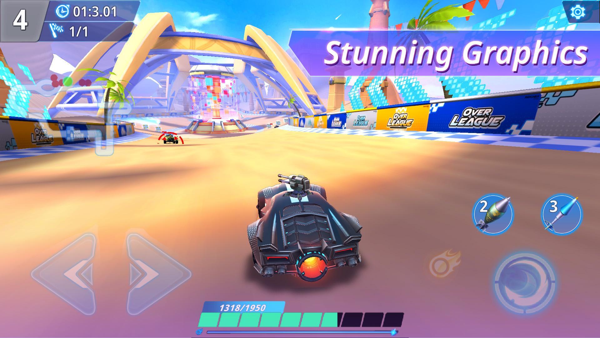 Overleague - Race To Glory captura de tela 1