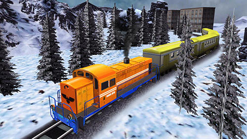 Euro train driving games screenshot 2