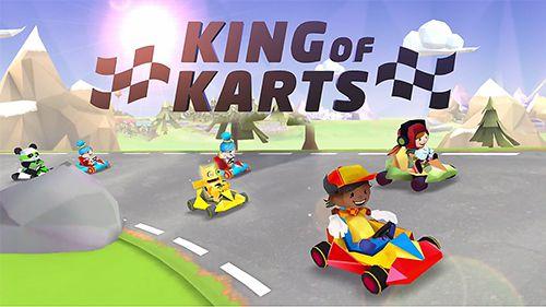 logo Kart König 3D: Lustiges Rennen