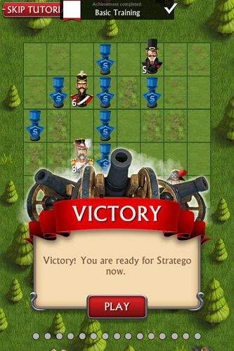 Screenshot Stratego: Einzelspieler auf dem iPhone