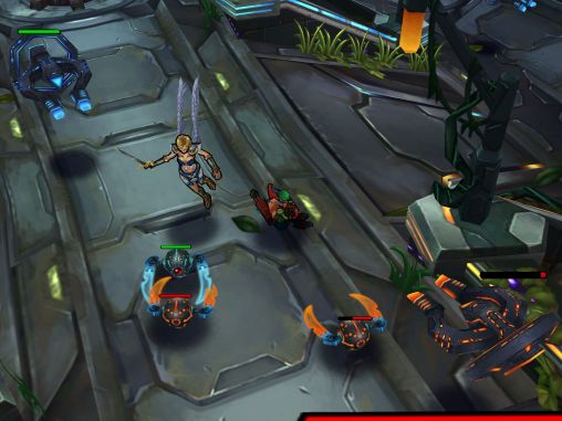Online Arena of heroes für das Smartphone