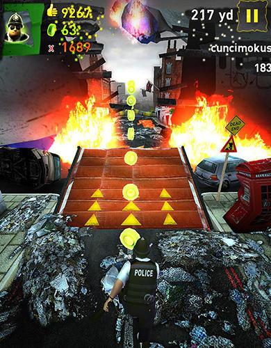 Arcade The end run: Mayan apocalypse für das Smartphone