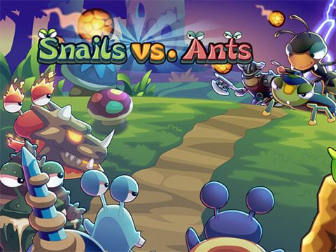 Snails vs. ants for iPhone