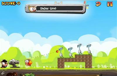 Würmer gegen Vögel für iPhone