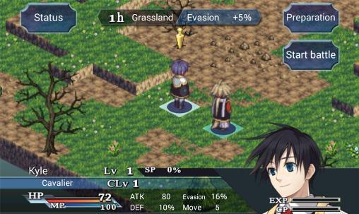 SRPG Legend of Ixtonacapturas de pantalla