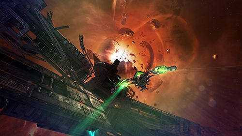 Shooter Brennende Galaxie 3: Mantikor auf Deutsch