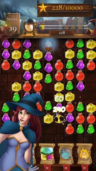 Arcade Witch castle: Magic wizards für das Smartphone