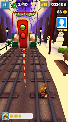 скріншот Subway surfers: World tour London