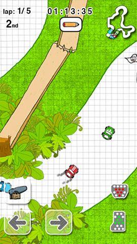 Karting dessiné pour iPhone gratuitement