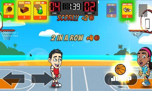 Big head basketball auf Deutsch