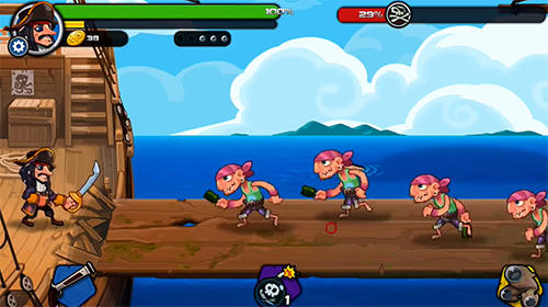 Pirate defender: Strategy Captain TD для Android