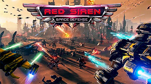 Red siren: Space defense Screenshot