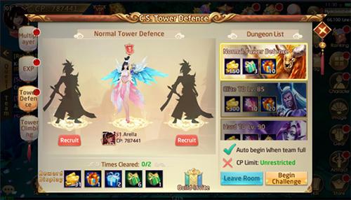 RPG-Spiele Celestial fate für das Smartphone
