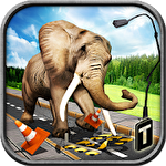 Ultimate elephant rampage 3D Symbol