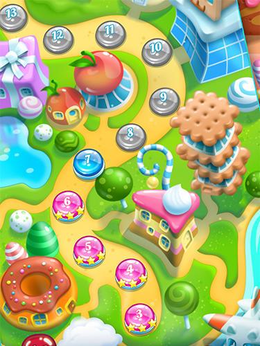 Arcade Nyan cat: Candy match für das Smartphone