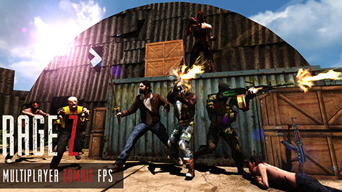 Rage Z: Multiplayer zombie FPS captura de tela 1