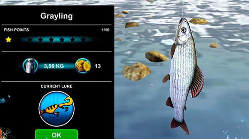 Arcade Ultimate fishing simulator PRO für das Smartphone