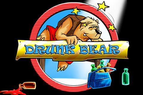 логотип Пьяный медведь