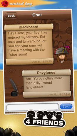 Brettspiele Schlacht der Schiffe - Piratenflotte auf Deutsch