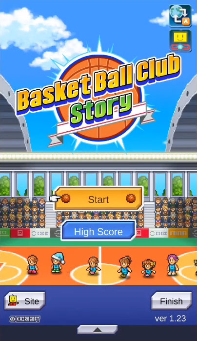 Basketball Club Story captura de tela 1
