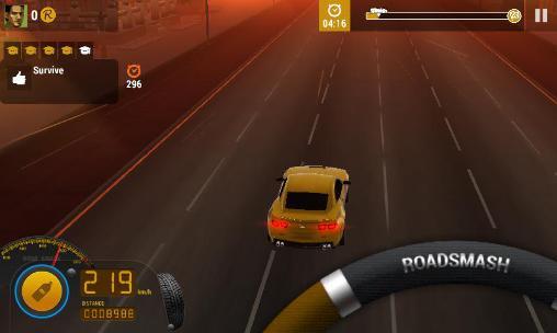 Rennspiele Road smash 2 für das Smartphone