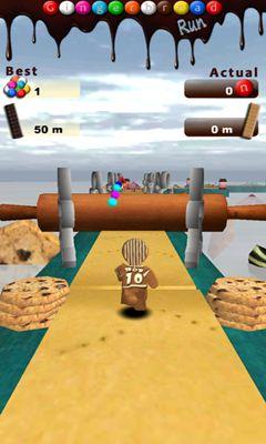 Arcade-Spiele Gingerbread Run für das Smartphone