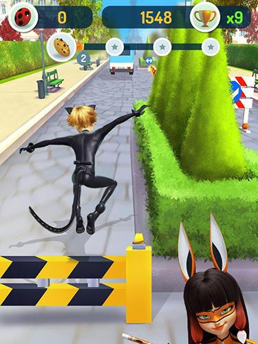 Miraculous Ladybug and Cat Noir: The official game screenshot 1