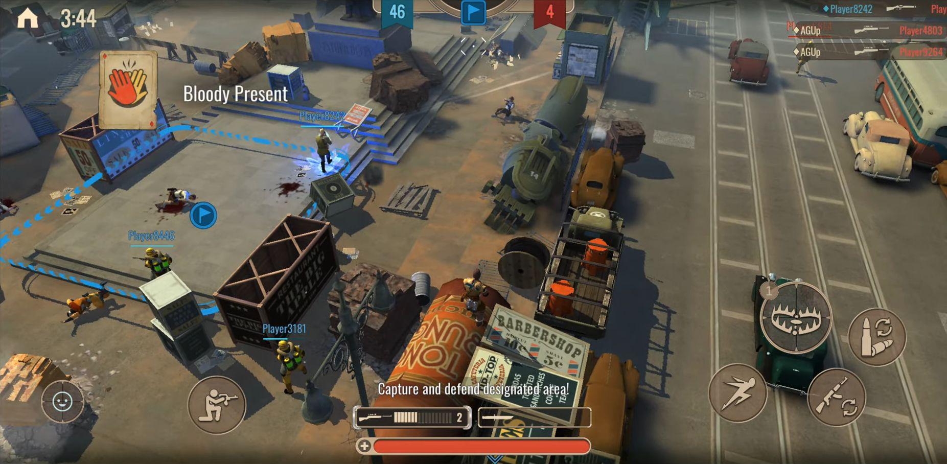 Diesel Soldiers: World War スクリーンショット1