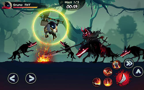 Shadow stickman: Fight for justice für Android