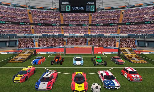 Car football 2018 screenshot 2